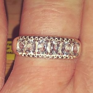 Sky Blue Topaz Sterling Silver Ring
